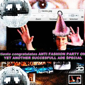 ANTI FASHION PARTY AT ADE 18 OCTOBER!!!!